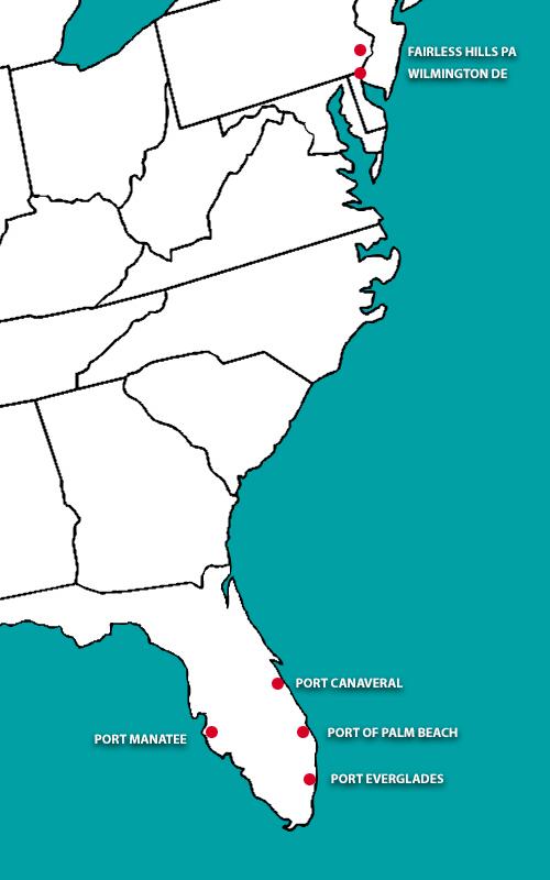 Port Contractors Locations